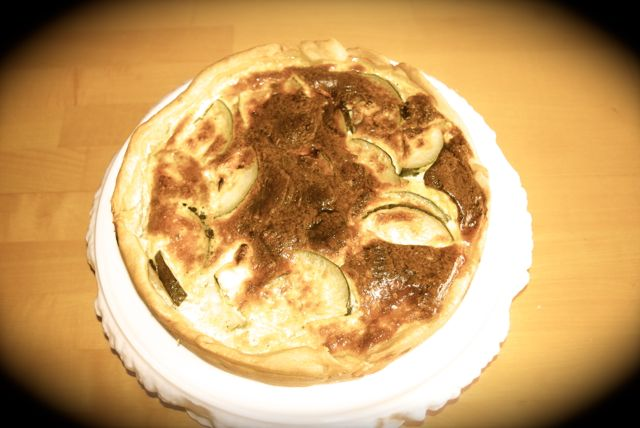 Quiche fertig