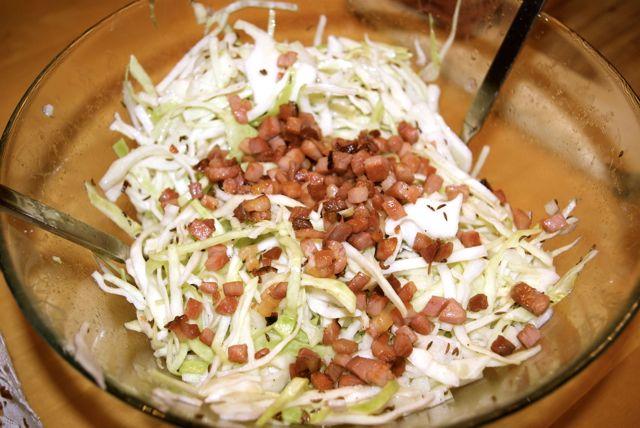 Krautsalat fertig