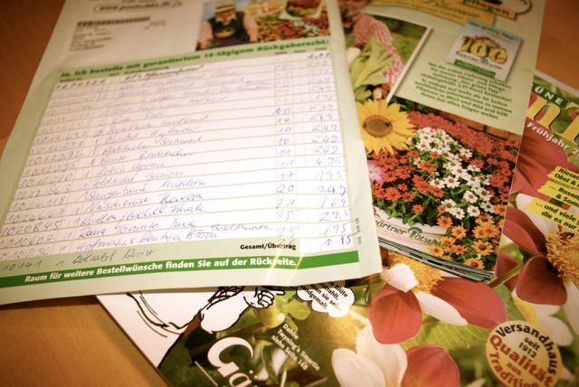 Liste Garten