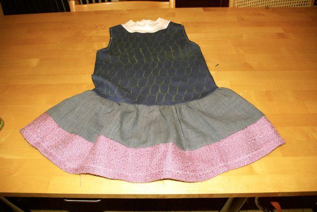 Wickie Kleid fertig