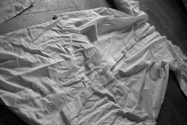 Hemden zusammengelegt