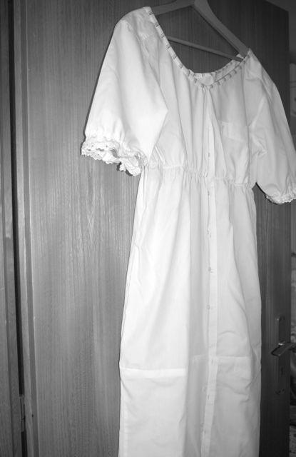 Nachthemd fertig