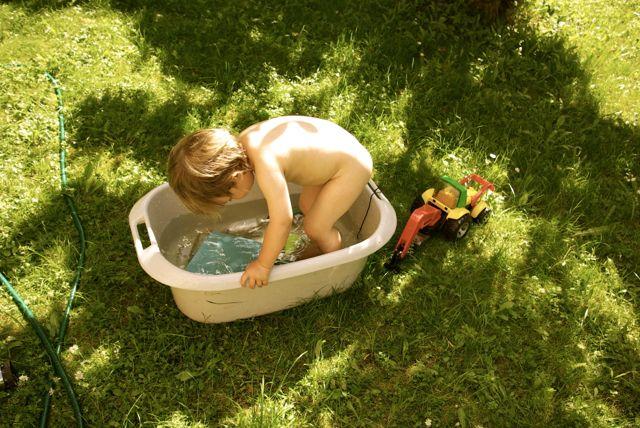 Jakob badet