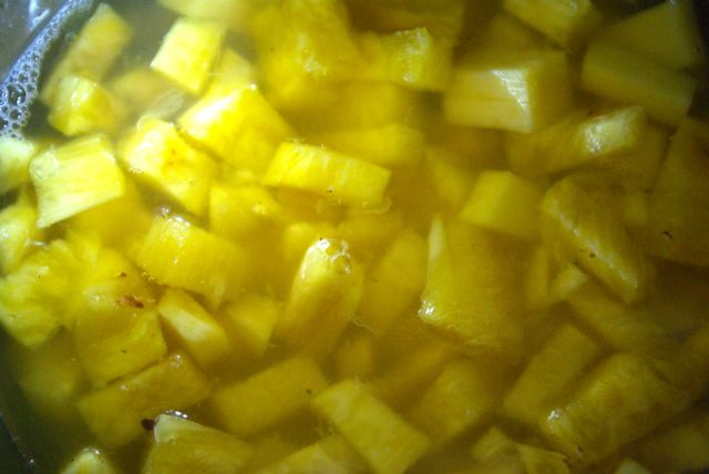 Ananas kochen