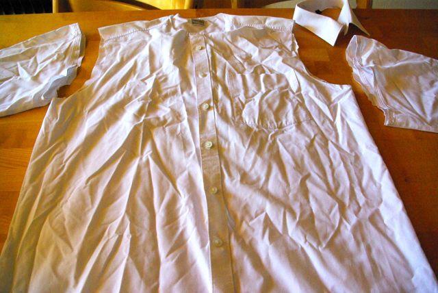Hemden abgeschnitten