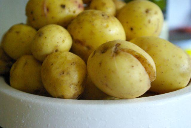 Kartoffeln geputzt
