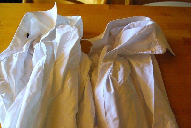 zwei Hemden für Hängerchen