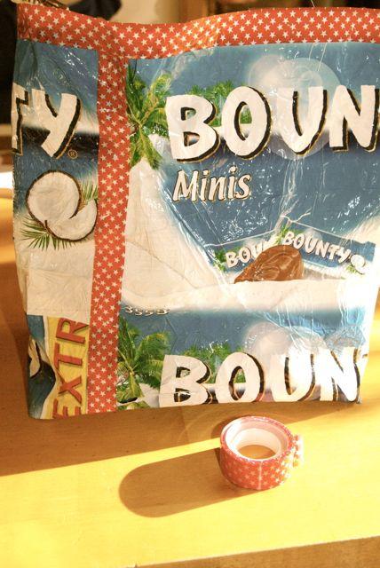 Bountybag abkleben