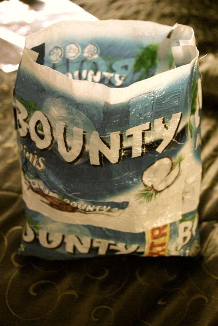 Bountybag gesteppt