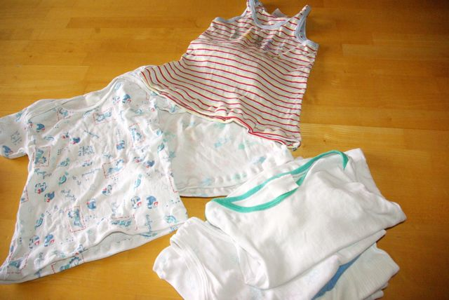 Bodies zu Unterhemden umgenäht