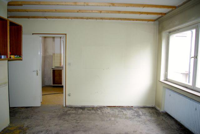 Küche gemauert