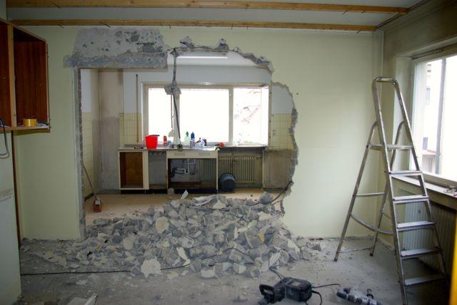 Küchenwand größer