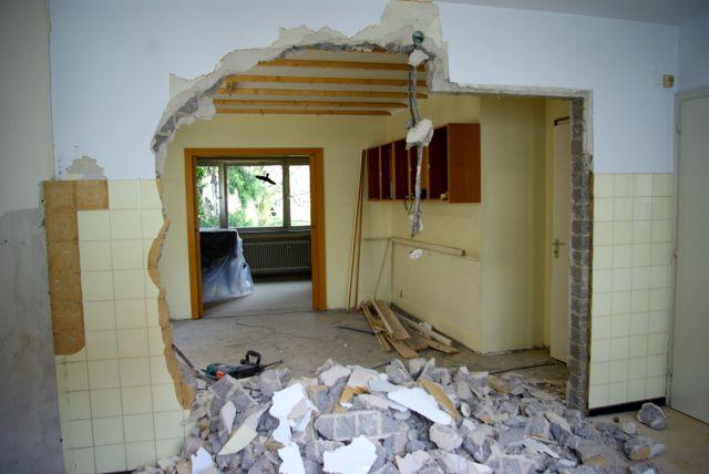 Küchenwand noch größer