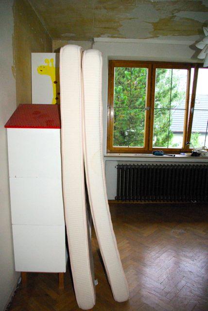 Mädelszimmer ausräumen