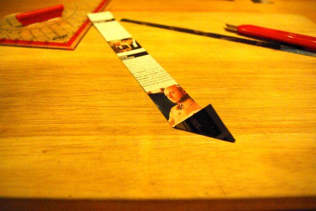 Papierecken falten