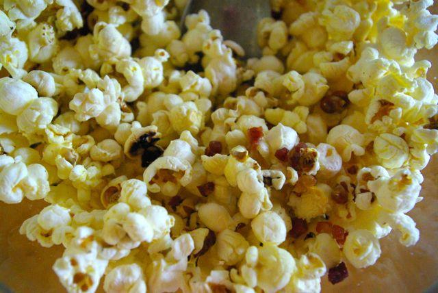 Popcorn mit Speck