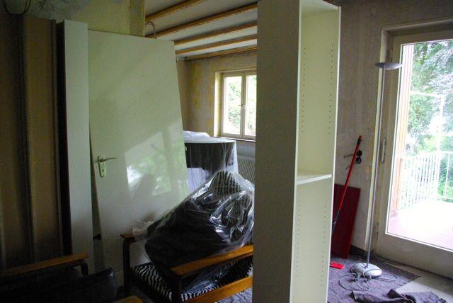 Wohnzimmerrohbau