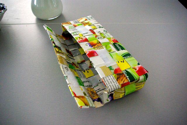 Tasche mit Klettverschluss