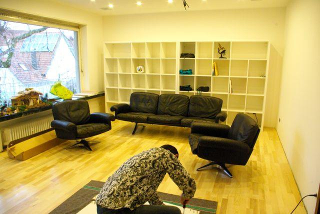 Möbel einbauen Wohnzimmer