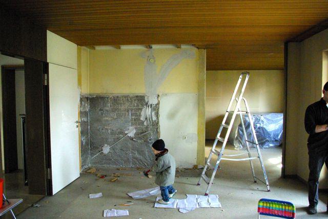Wohnzimmer zerstören