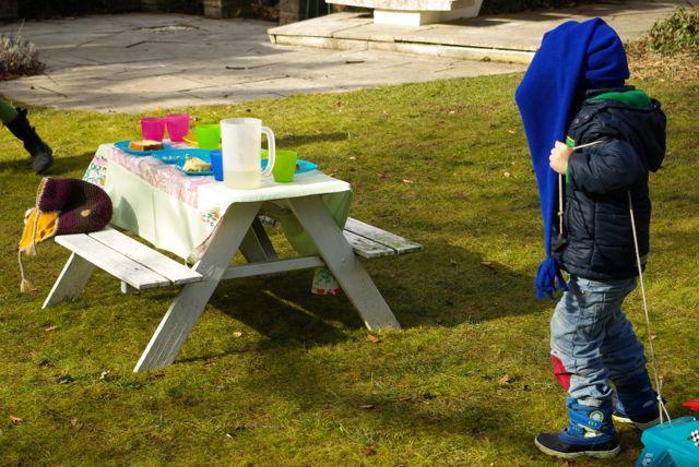 erstes Picknick