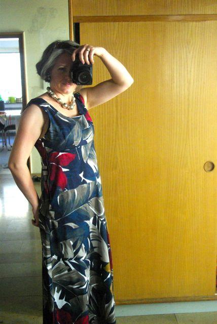 Sommertropenkleid