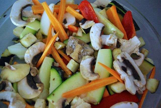 Gemüsebraten