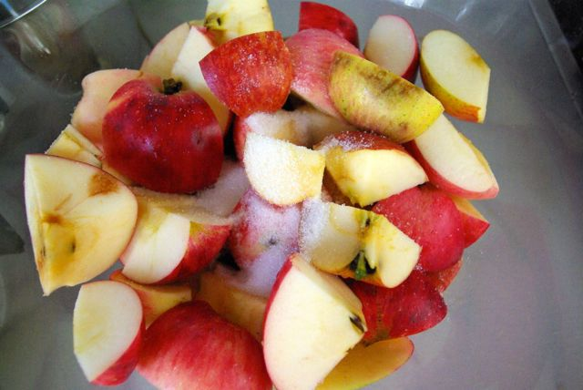 Apfelschüssel