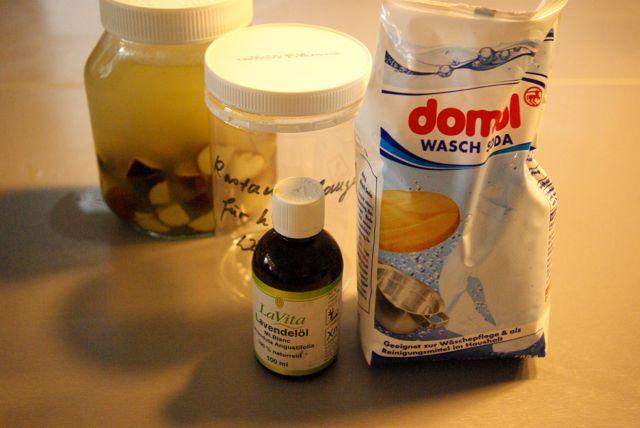 Kastanienwaschmittel Soda