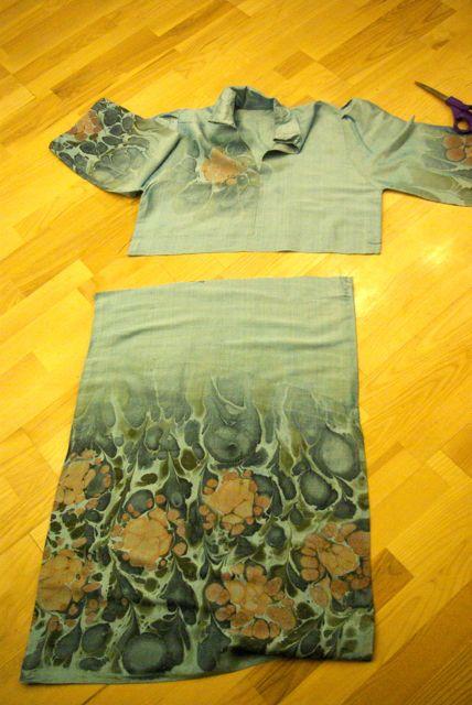 Kimono Schnitt 1