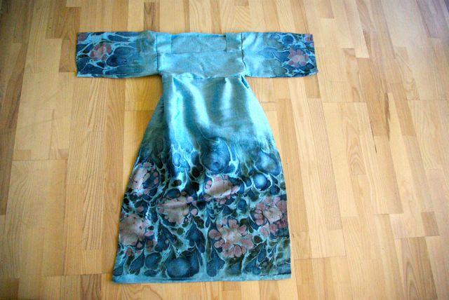 Kimono umgenäht zu eng