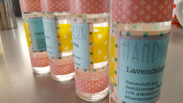 Lavendelspritz, DIY, Geschenke selbermachen, Hausapotheke, Duftgeschenk
